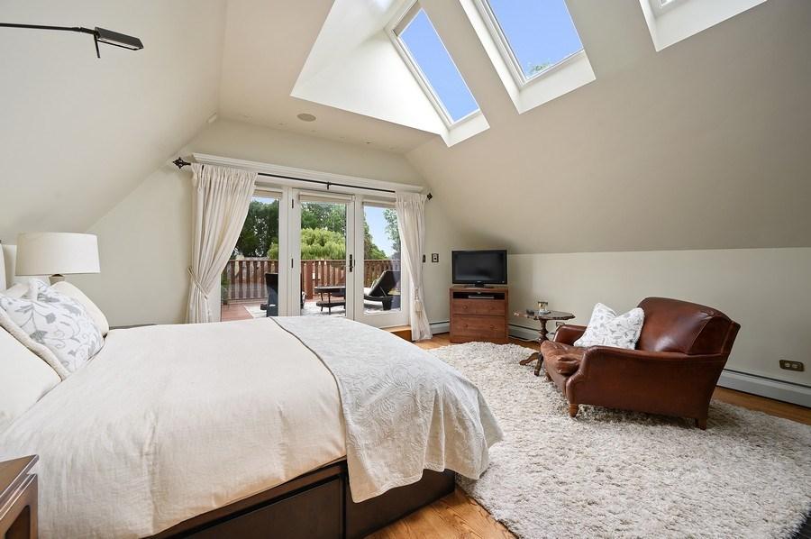 Real Estate Photography - 1225 Sheridan Rd, Evanston, IL, 60202 - 3rd Floor Bedroom