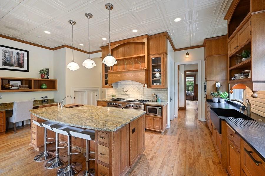 Real Estate Photography - 1225 Sheridan Rd, Evanston, IL, 60202 - Kitchen