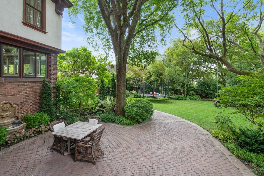 Real Estate Photography - 1225 Sheridan Rd, Evanston, IL, 60202 - Extra Large Fenced In Backyard