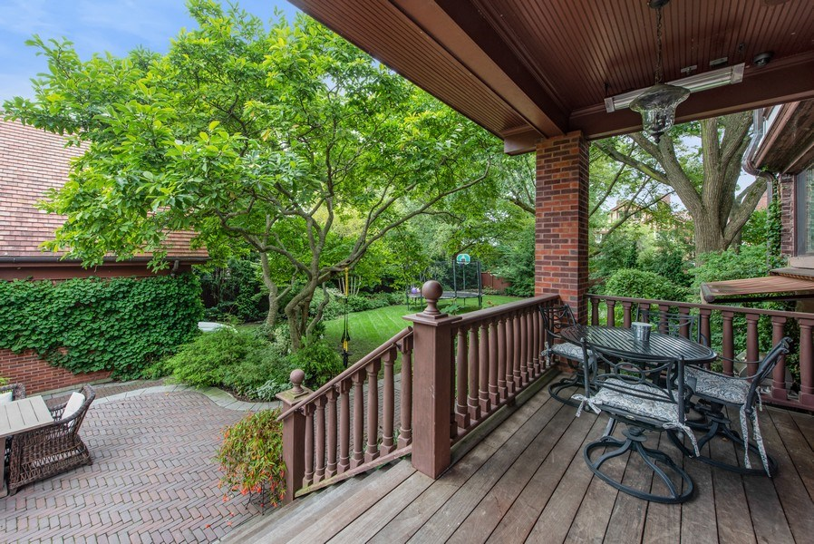 Real Estate Photography - 1225 Sheridan Rd, Evanston, IL, 60202 - Porch off Kitchen