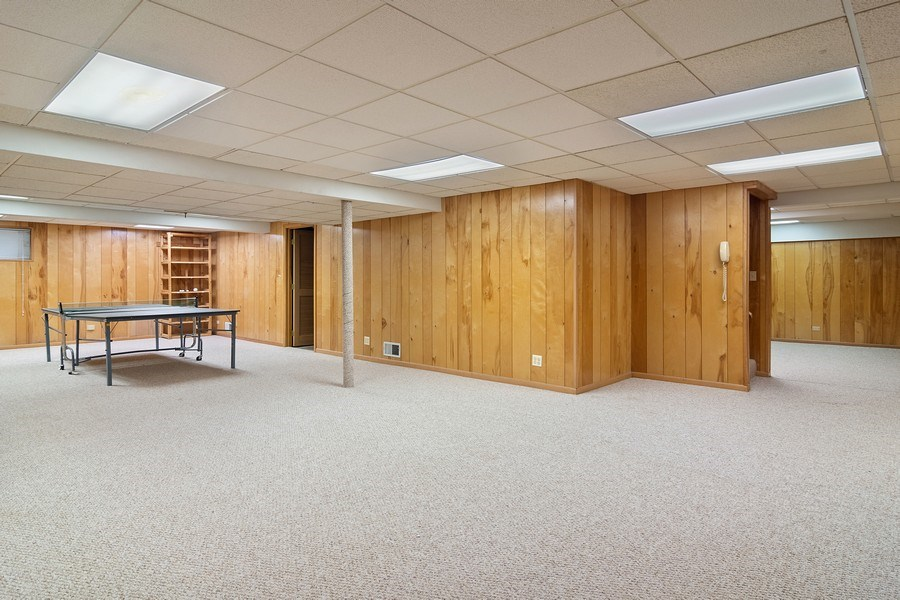 Real Estate Photography - 4007 Lindenwood, Northbrook, IL, 60062 - Basement