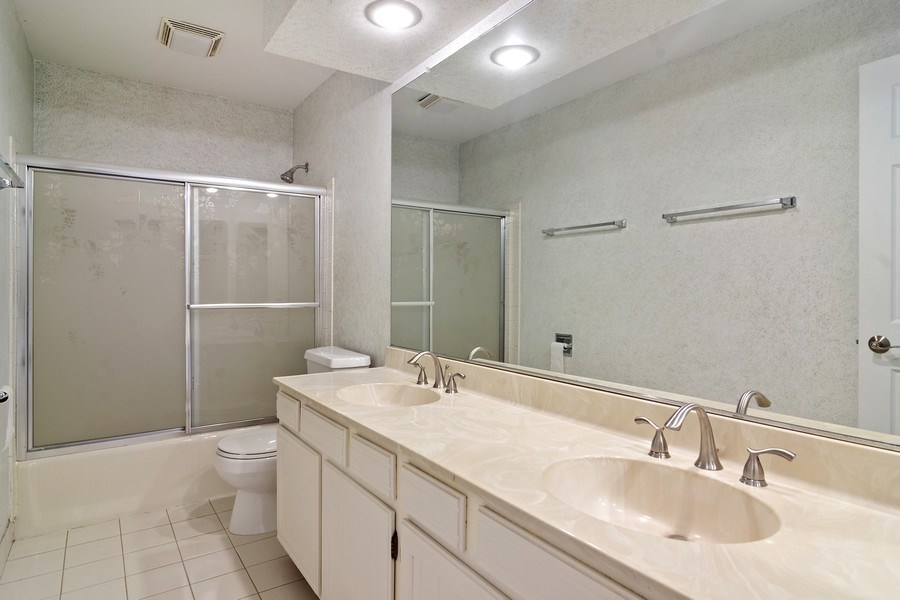 Real Estate Photography - 4007 Lindenwood, Northbrook, IL, 60062 - Bathroom
