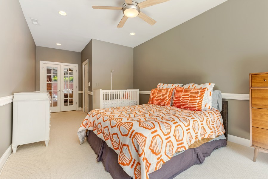 Real Estate Photography - 830 W Bradley Pl, Unit 1S, Chicago, IL, 60613 - 2nd Bedroom