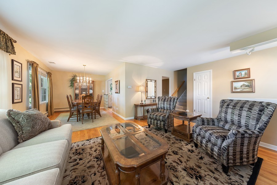 Real Estate Photography - 24 N Poplar Place, La Grange, IL, 60525 - Living Room / Dining Room