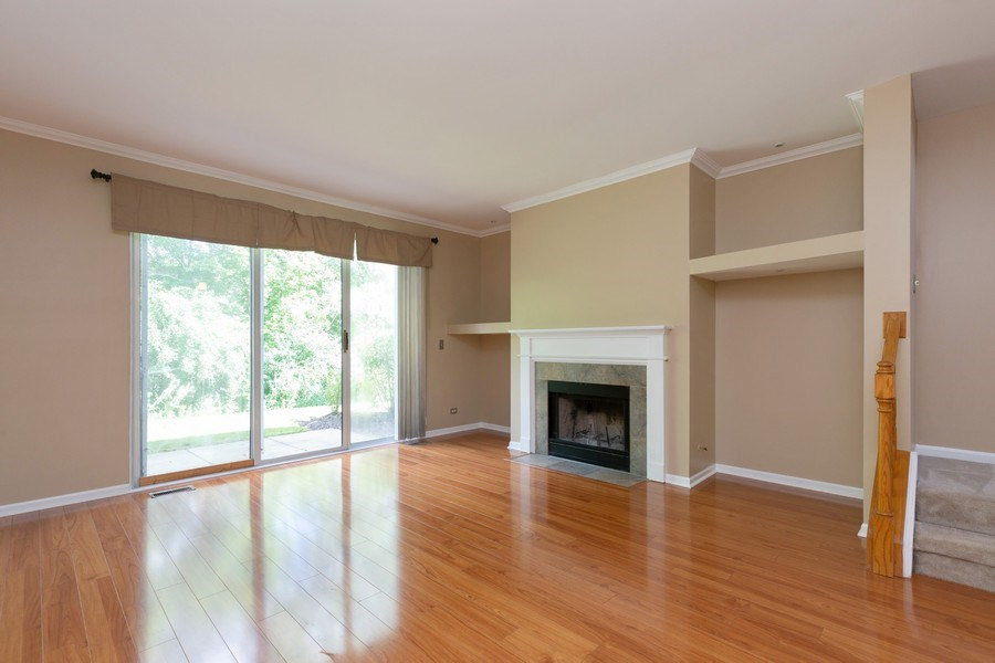 Real Estate Photography - 137 Polaris, Lake in the Hills, IL, 60156 - Living Room