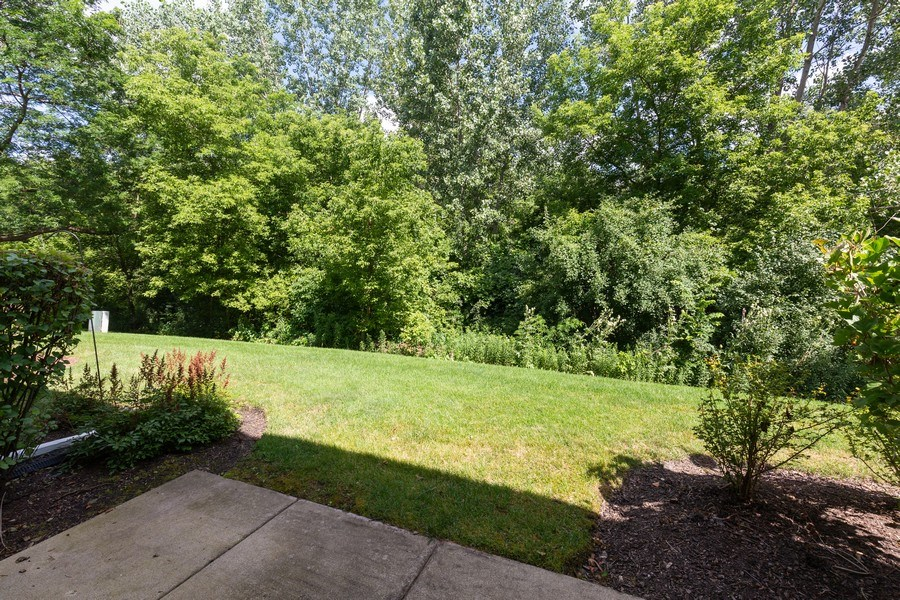 Real Estate Photography - 137 Polaris, Lake in the Hills, IL, 60156 - Deck