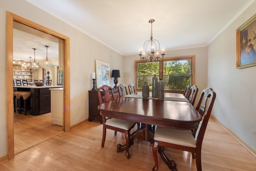 Real Estate Photography - 1431 N Haddow, Arlington Heights, IL, 60004 - Dining Room