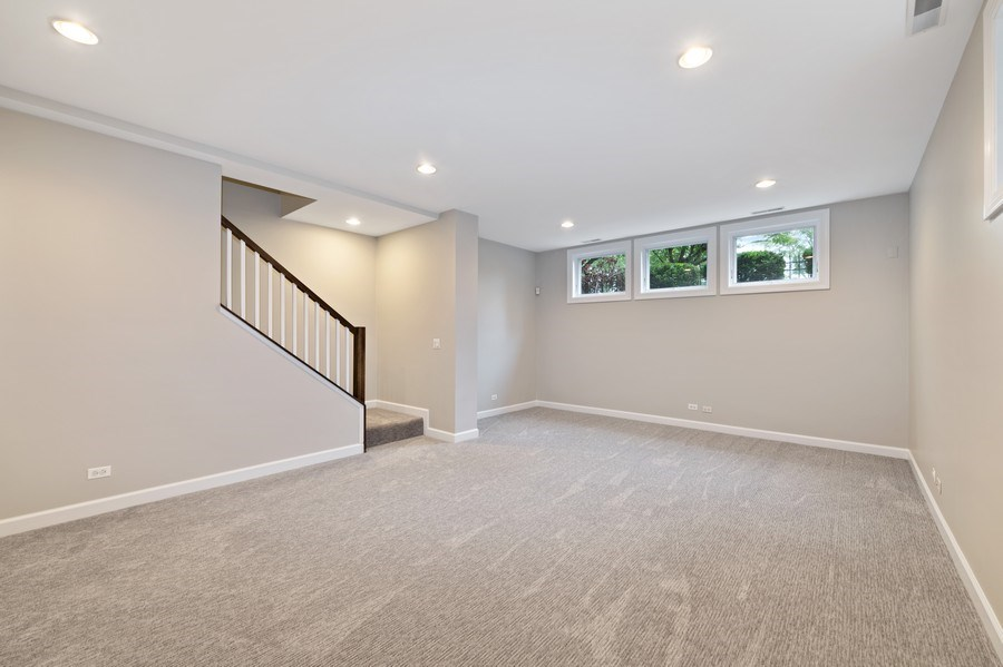 Real Estate Photography - 620 N May St, 1A, Chicago, IL, 60642 - Family Room