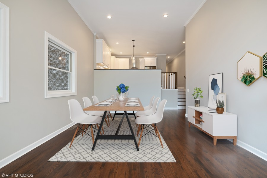Real Estate Photography - 620 N May St, 1A, Chicago, IL, 60642 -