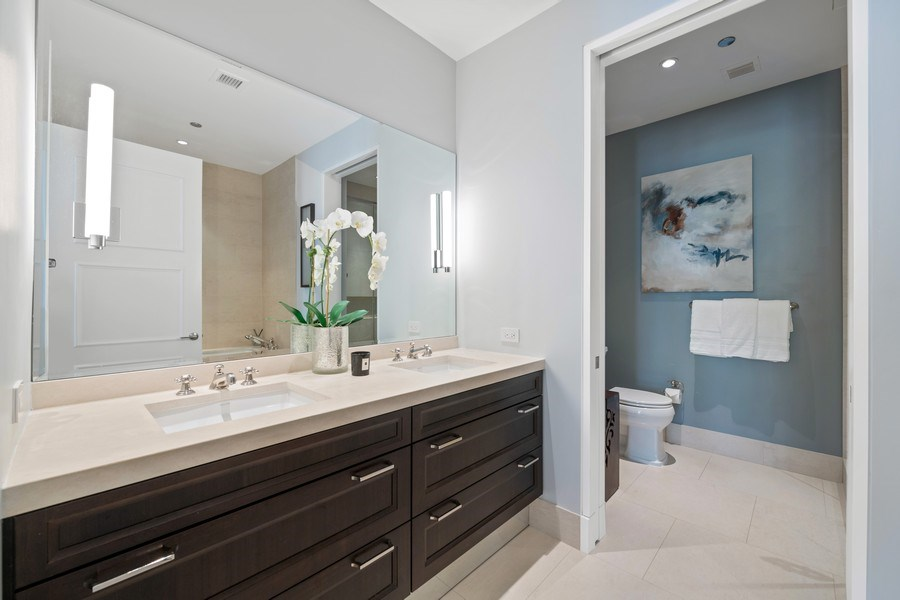 Real Estate Photography - 118 E. Erie, #20C, Chicago, IL, 60611 - Master Bathroom