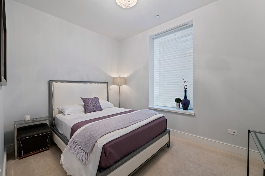 Real Estate Photography - 118 E. Erie, #20C, Chicago, IL, 60611 - 2nd Bedroom