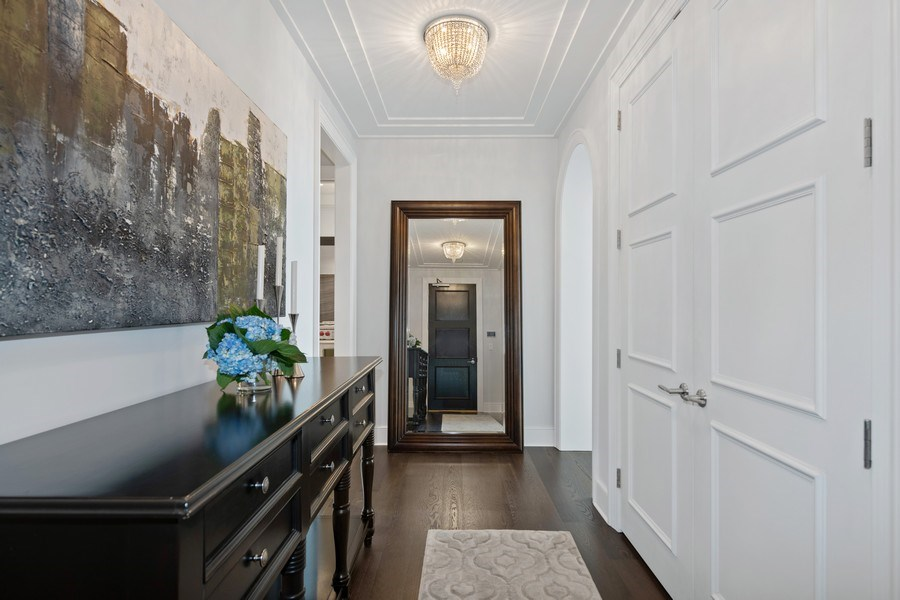 Real Estate Photography - 118 E. Erie, #20C, Chicago, IL, 60611 - Foyer