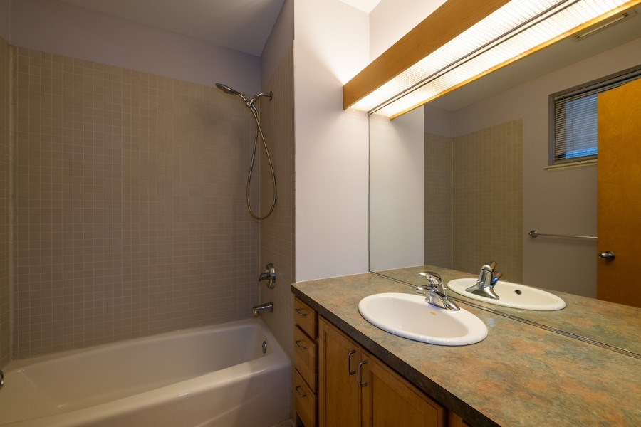 Real Estate Photography - 1814 W. Armitage Avenue, Unit 2, Chicago, IL, 60647 - Master Bathroom