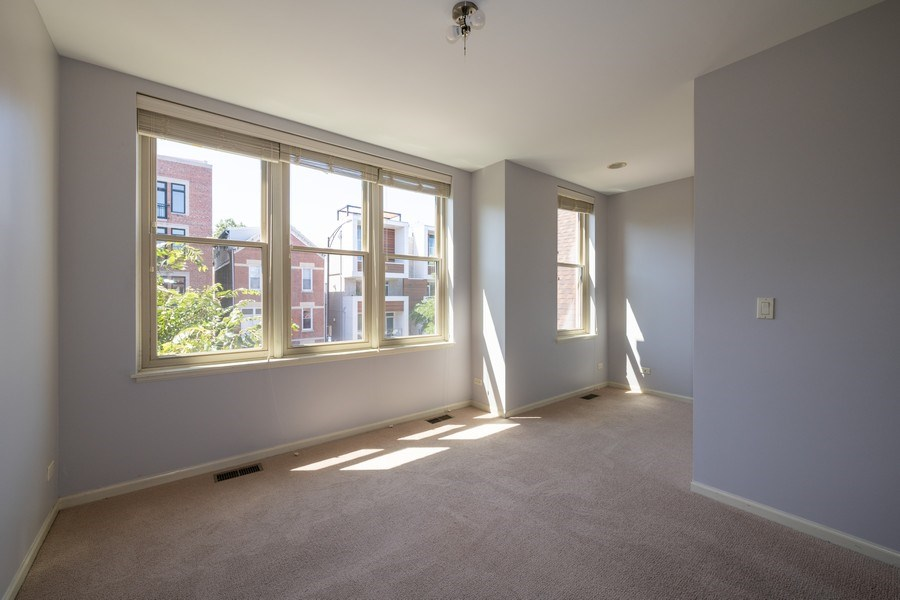 Real Estate Photography - 1814 W. Armitage Avenue, Unit 2, Chicago, IL, 60647 - 2nd Bedroom