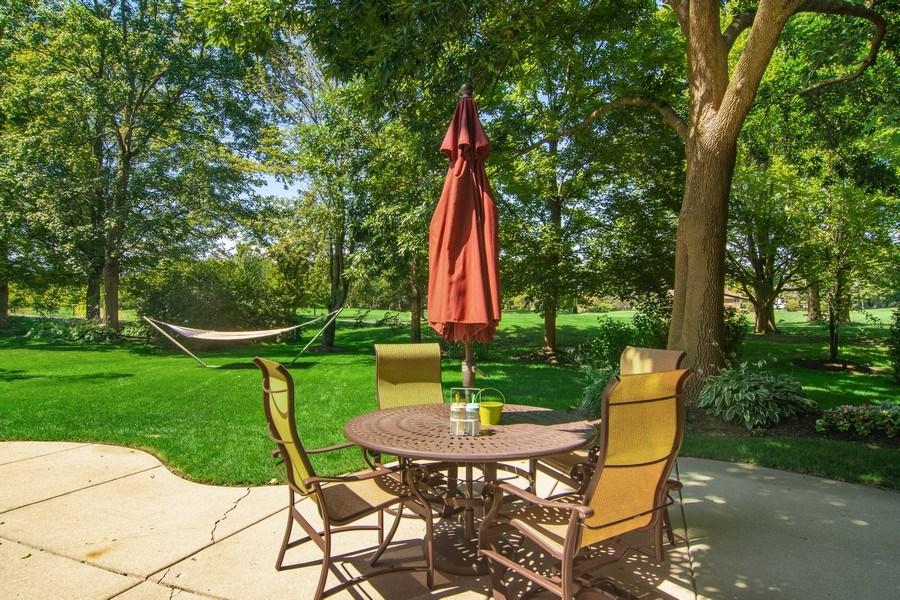 Real Estate Photography - 60 CHESTNUT TERRACE, BUFFALO GROVE, IL, 60089 - Patio
