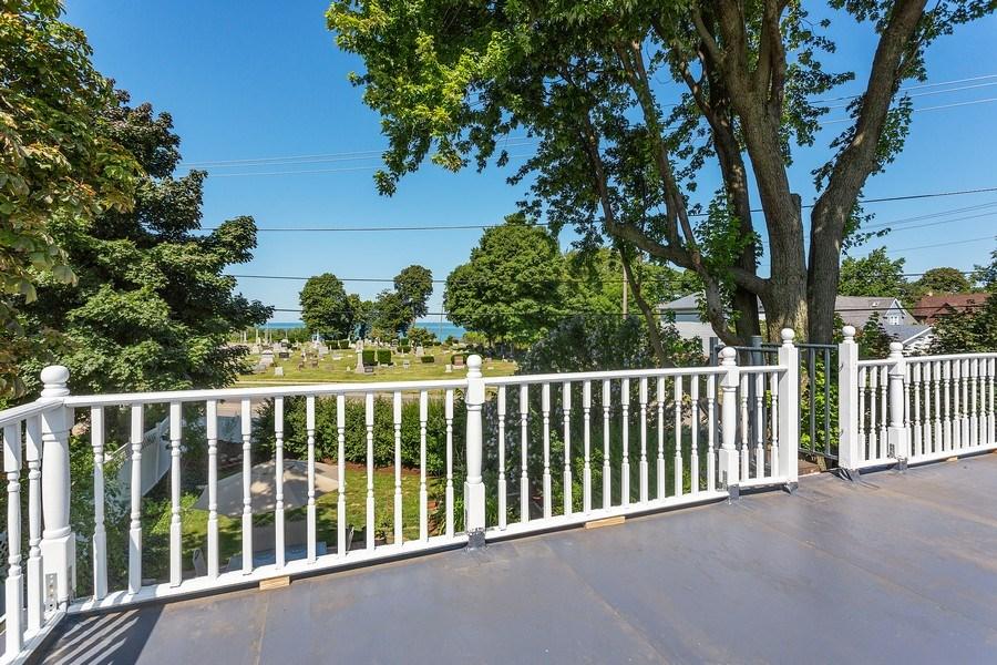 Real Estate Photography - 402 Archer, St. Joseph, MI, 49085 - Roof Deck