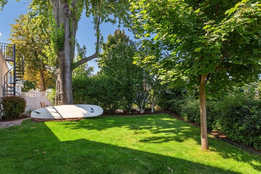 Real Estate Photography - 402 Archer, St. Joseph, MI, 49085 - Back Yard