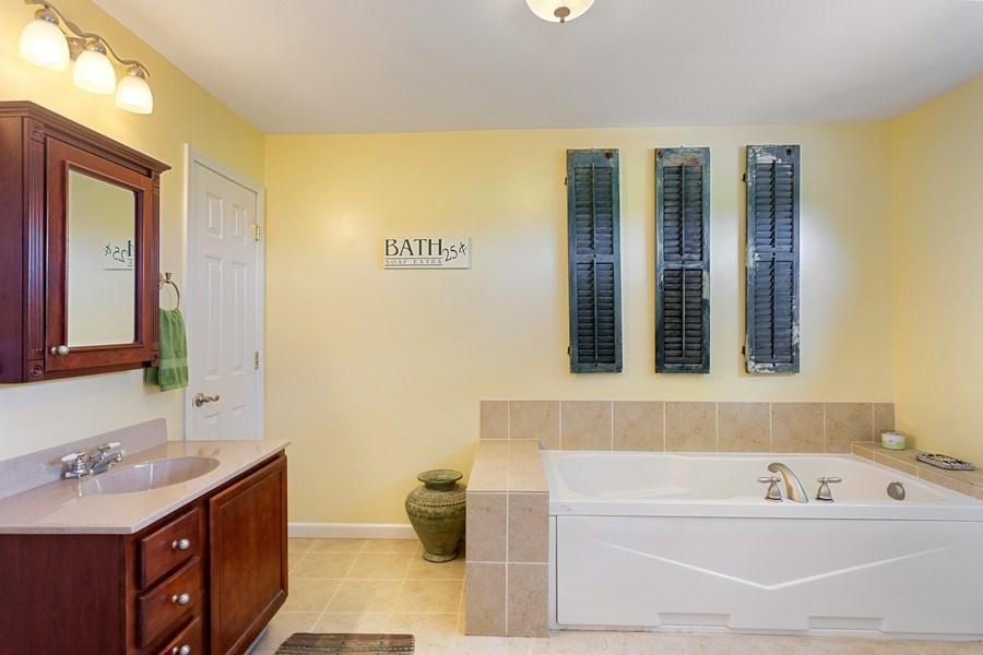 Real Estate Photography - 4657 Lincoln Ave, St. Joseph, MI, 49085 - Master Bathroom