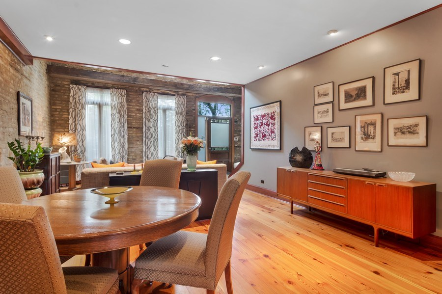 Real Estate Photography - 949 W. Huron St., Chicago, IL, 60642 - Dining Room