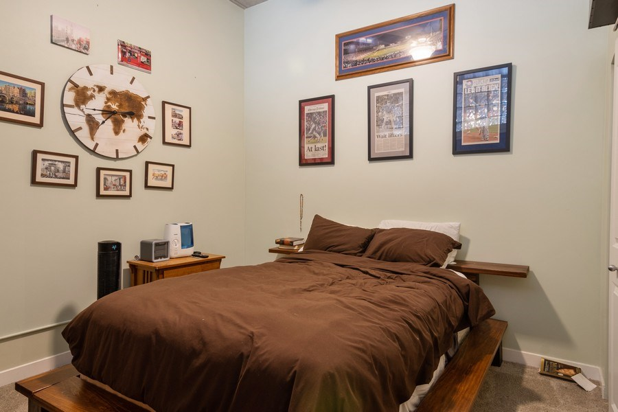 Real Estate Photography - 1635 W Belmont #515, Chicago, IL, 60657 - Bedroom