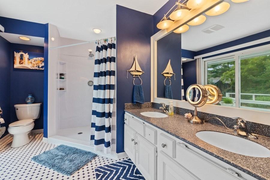 Real Estate Photography - N2293 Chapin Road, Linn, WI, 53147 - Master Bathroom