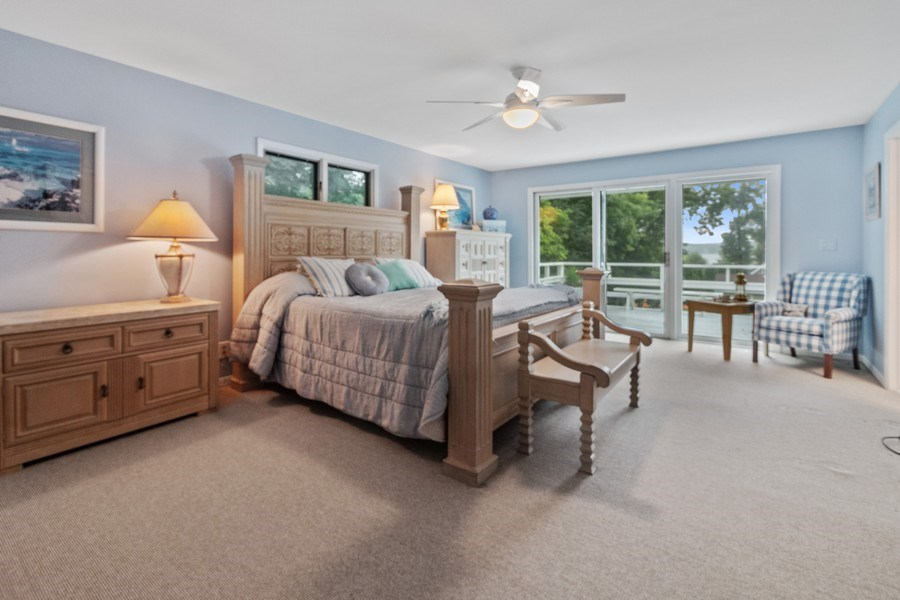 Real Estate Photography - N2293 Chapin Road, Linn, WI, 53147 - Master Bedroom
