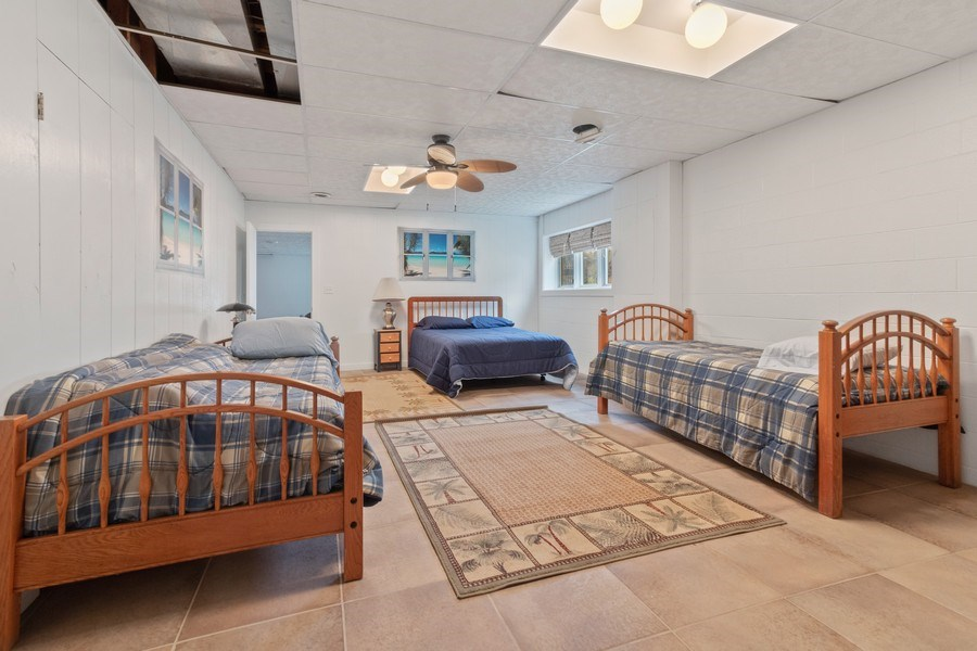 Real Estate Photography - N2293 Chapin Road, Linn, WI, 53147 - 5th bedroom in lower level