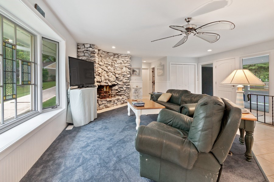 Real Estate Photography - N2293 Chapin Road, Linn, WI, 53147 - Living Room