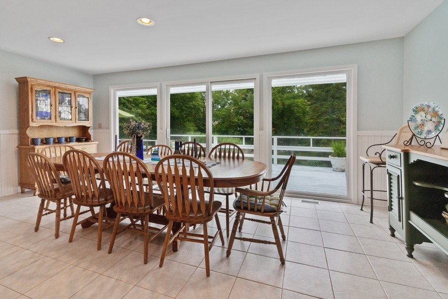 Real Estate Photography - N2293 Chapin Road, Linn, WI, 53147 - Dining Room