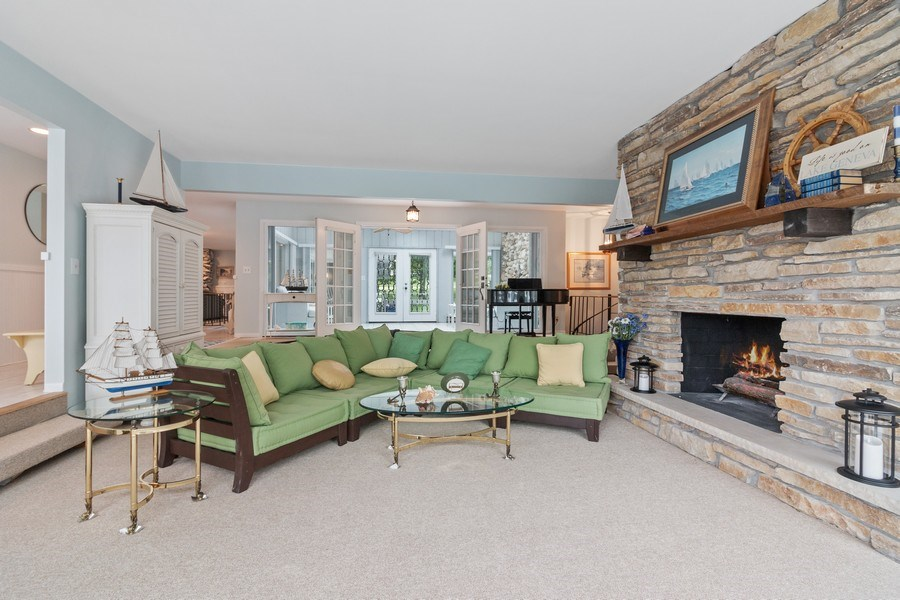 Real Estate Photography - N2293 Chapin Road, Linn, WI, 53147 - Family Room