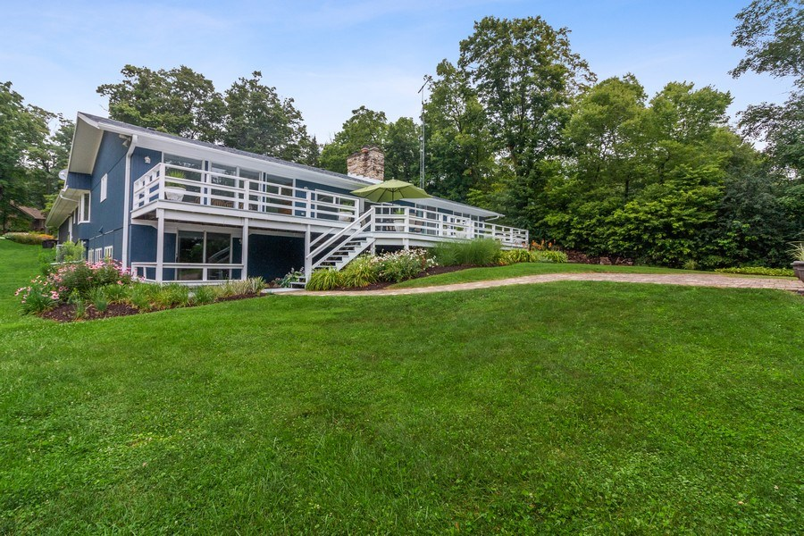 Real Estate Photography - N2293 Chapin Road, Linn, WI, 53147 - Rear View