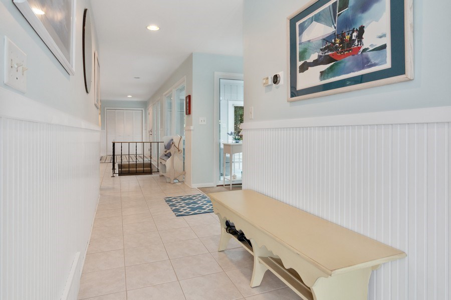 Real Estate Photography - N2293 Chapin Road, Linn, WI, 53147 - Hallway
