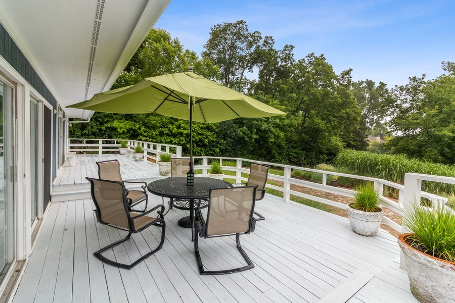 Real Estate Photography - N2293 Chapin Road, Linn, WI, 53147 - Deck