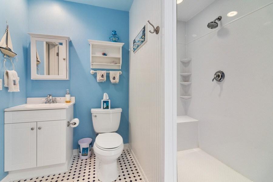 Real Estate Photography - N2293 Chapin Road, Linn, WI, 53147 - 3rd Bathroom
