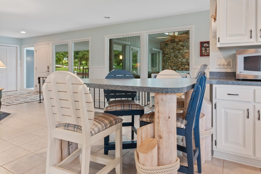 Real Estate Photography - N2293 Chapin Road, Linn, WI, 53147 - Breakfast Nook