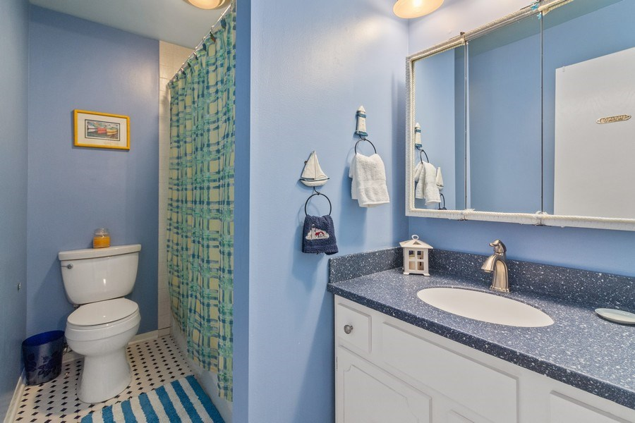 Real Estate Photography - N2293 Chapin Road, Linn, WI, 53147 - 2nd Bathroom