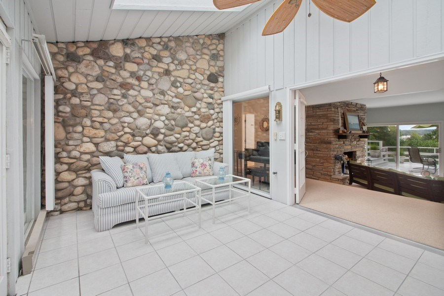 Real Estate Photography - N2293 Chapin Road, Linn, WI, 53147 - Sunroom