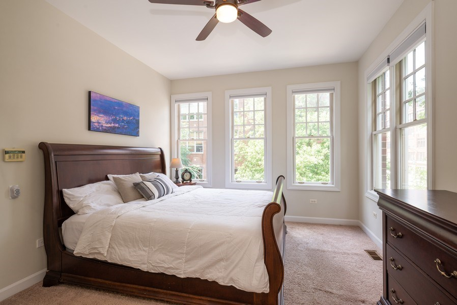 Real Estate Photography - 3959 N Hermitage, Chicago, IL, 60613 - Master Bedroom
