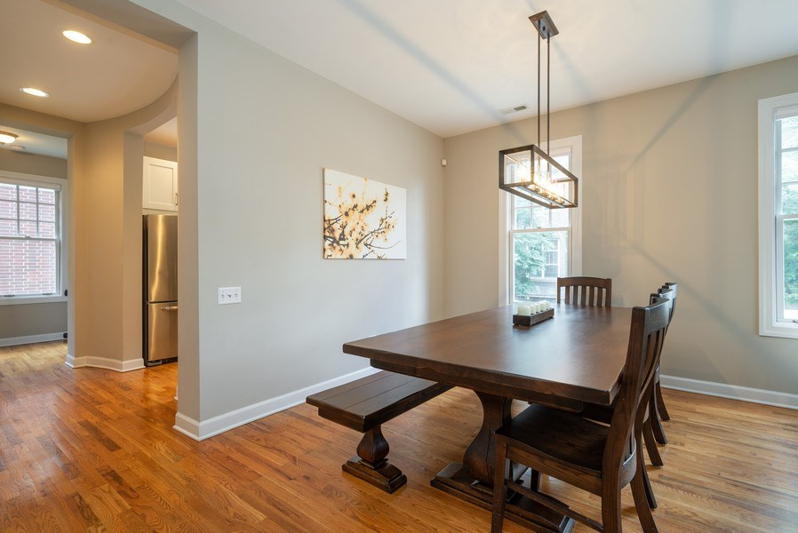 Real Estate Photography - 3959 N Hermitage, Chicago, IL, 60613 - Dining Room
