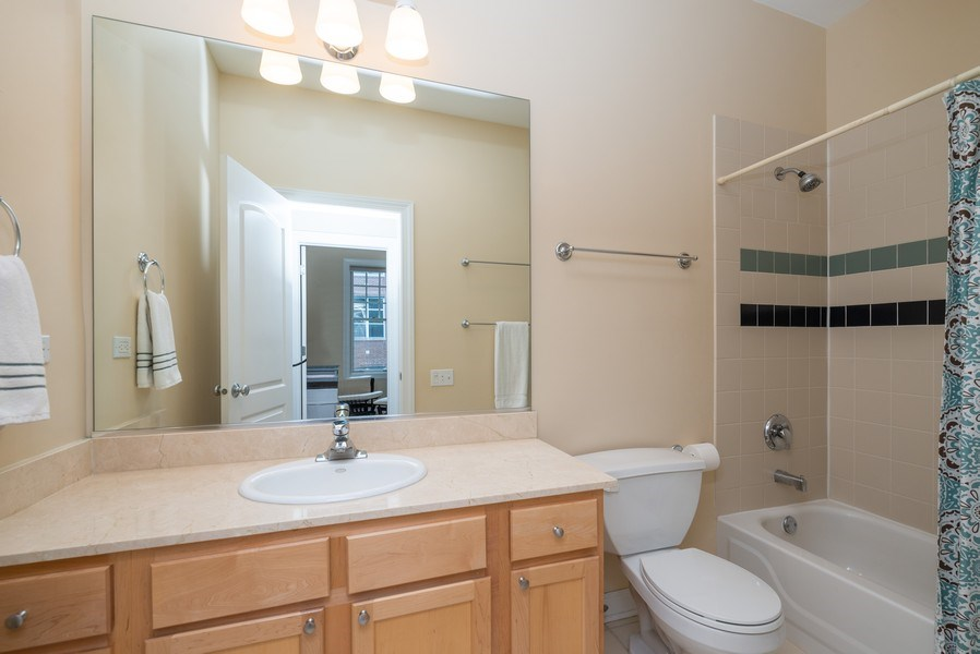 Real Estate Photography - 3959 N Hermitage, Chicago, IL, 60613 - 2nd Bathroom