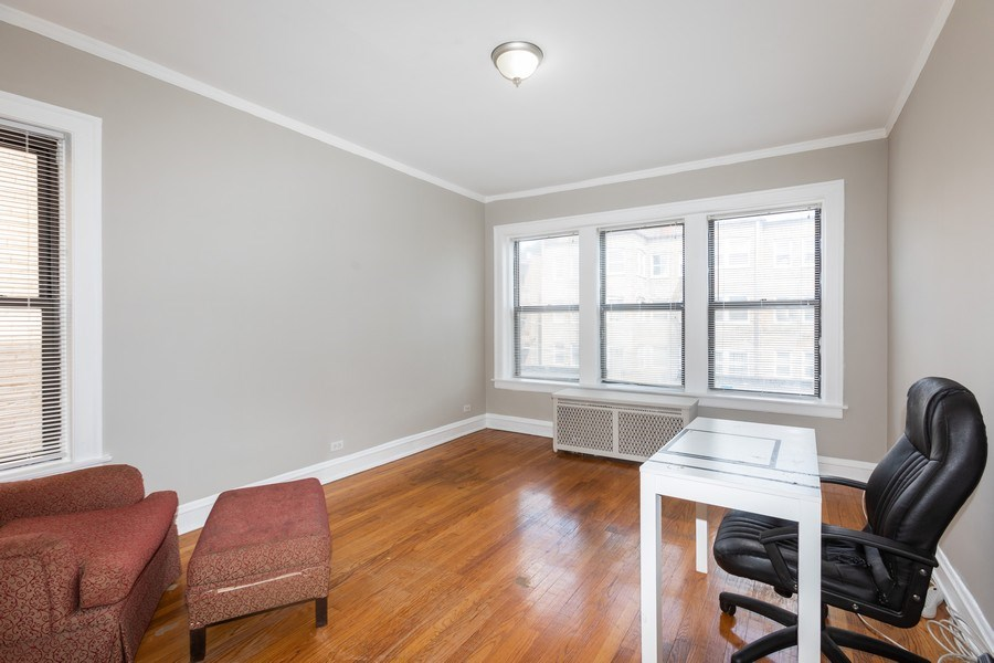 Real Estate Photography - 6727 S Merrill Ave #2N, Chicago, IL, 60649 - 2nd Bedroom