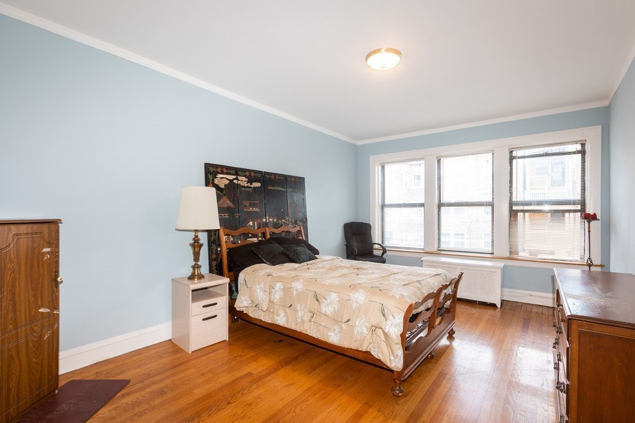 Real Estate Photography - 6727 S Merrill Ave #2N, Chicago, IL, 60649 - Bedroom