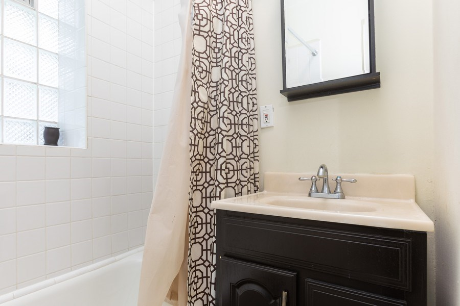 Real Estate Photography - 6727 S Merrill Ave #2N, Chicago, IL, 60649 - Bathroom