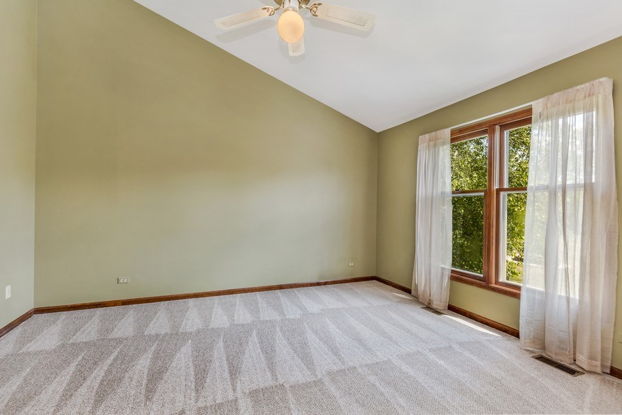 Real Estate Photography - 5175 Thornbark, Hoffman Estates, IL, 60010 - 5th Bedroom / First Floor Office