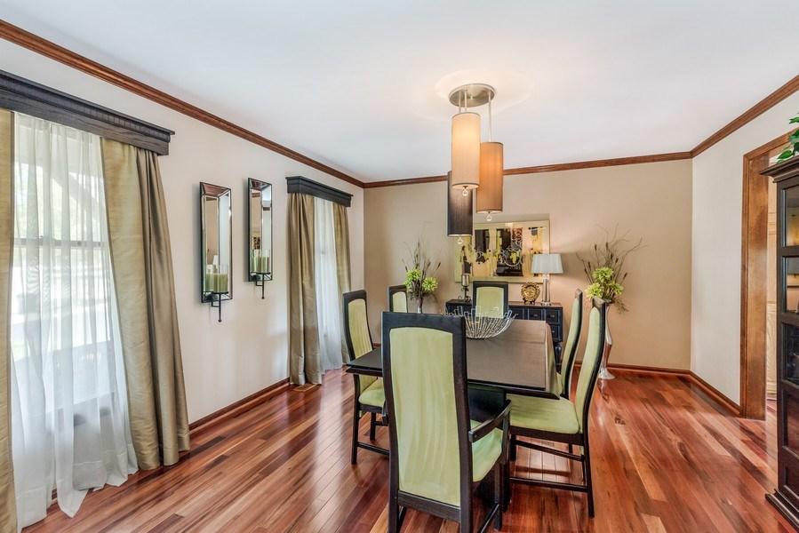Real Estate Photography - 5175 Thornbark, Hoffman Estates, IL, 60010 - Dining Room