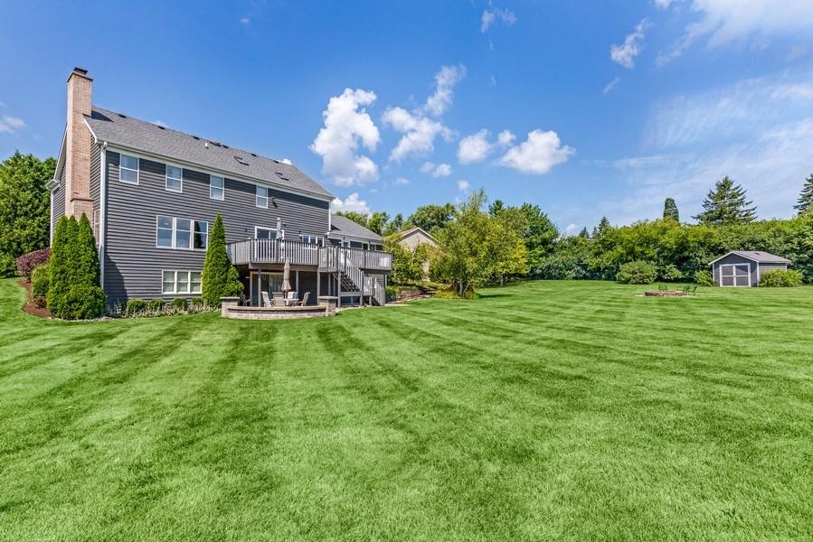 Real Estate Photography - 5175 Thornbark, Hoffman Estates, IL, 60010 - Rear View