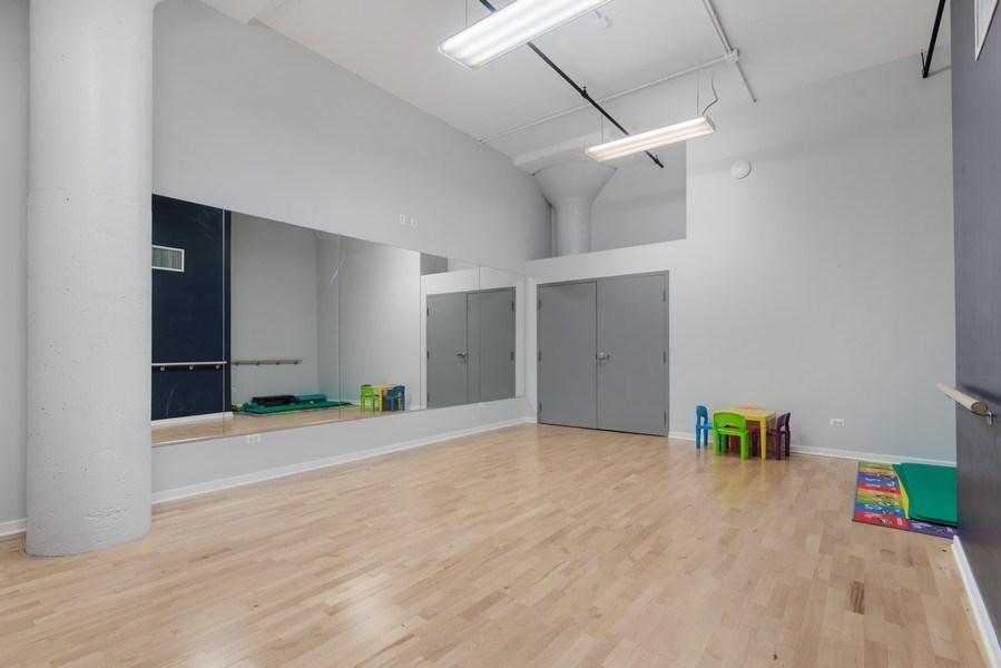 Real Estate Photography - 1224 W Van Buren, Apt 623, Chicago, IL, 60607 - Yoga Room
