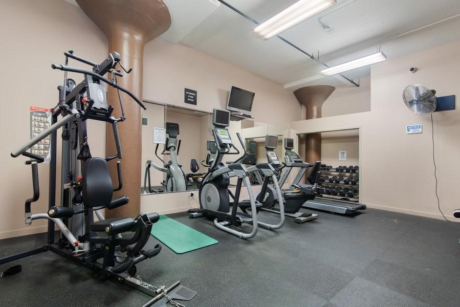 Real Estate Photography - 1224 W Van Buren, Apt 623, Chicago, IL, 60607 - Fitness Center