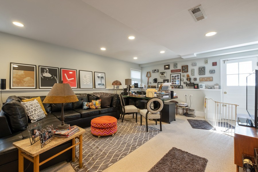 Real Estate Photography - 622 Pleasant Ave, Highland Park, IL, 60035 - Family Room