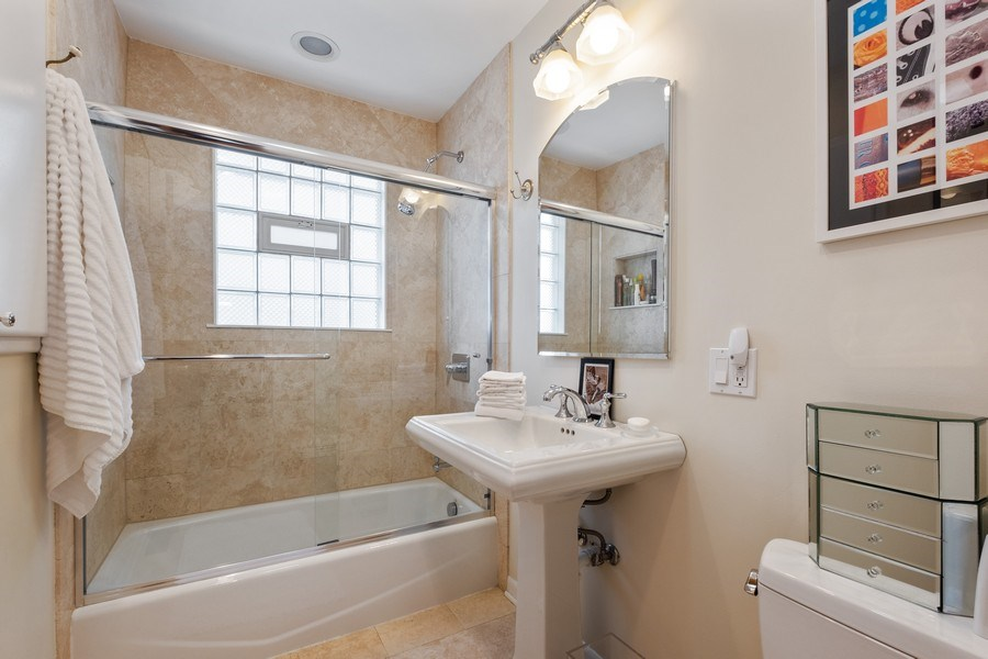 Real Estate Photography - 622 Pleasant Ave, Highland Park, IL, 60035 - Bathroom